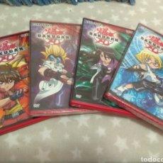 Séries TV: DVD. BAKUGAN. PRIMERA TEMPORADA EN 4 DVDS (2 DE ELLOS PRECINTADOS).. Lote 138561672