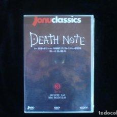 Series de TV: DEATH NOTE- NOTA DE MUERTE-SERIE COMPLETA - DVD NUEVO PRECINTADO. Lote 194553007