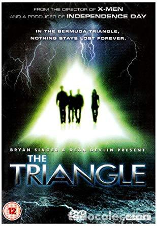 THE TRIANGLE : COMPLETE TV SERIES [DVD] BOX CON 2 DVD BERMUDAS TRIANGULO (Series TV en DVD)