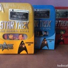 Series de TV: STAR TREK ORIGINAL SERIES (DVD) PRECINTADA. 3 TEMPORADAS. COMPLETA.. Lote 138953670