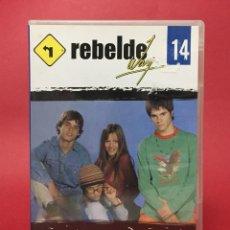 Series de TV: DVD REBELDE WAY VOL 14 EPISODIOS 52 - 55 (ERREWAY). Lote 138976378