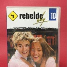 Series de TV: DVD REBELDE WAY VOL 10 EPISODIOS 36 - 39 (ERREWAY). Lote 138976502