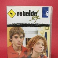 Series de TV: DVD REBELDE WAY VOL 6 EPISODIOS 20 - 23 (ERREWAY). Lote 138976586