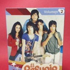 Series de TV: PACK DVDS EL REFUGIO (ROLABOGAN) REBELDE WAY. Lote 138977478