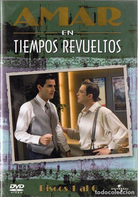 AMAR EN TIEMPOS REVUELTOS DISCOS 1 AL 6 (Series TV en DVD)