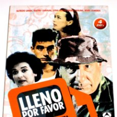Series de TV: LLENO POR FAVOR (SERIE COMPLETA EN PACK DE 4 DISCOS) - ALFREDO LANDA BEATRIZ CARVAJAL INENCONTRABLE. Lote 139244010
