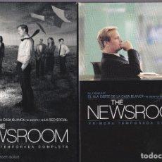 Séries TV: 9869 -THE NEWSROOM 2 DVD 1ª Y 2ª TEMPORADA COMPLETA HBO. Lote 139332626