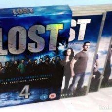 Series de TV: D000 - LOST. PERDIDOS. CUARTA TEMPORADA COMPLETA. THE EXPANDED EXPERIENCE. BOX SET 6 DISCOS. DVD.. Lote 140127190