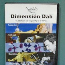 Series de TV: DIMENSIÓN DALÍ, LA OBSESIÓN DE UN GENIO POR LA CIENCIA. DVD. Lote 140157114