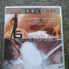 Series de TV: DVD -- EL CUERPO HUMANO DEL FUTURO - Nº 6 -- REACCION A LOS IMPACTOS MORTALES -- . Lote 140165130