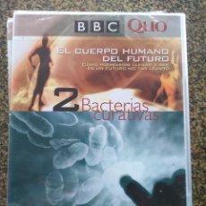 Series de TV: DVD -- EL CUERPO HUMANO DEL FUTURO - Nº 2 -- BACTERIAS CURATIVAS -- NUEVO --. Lote 140165374
