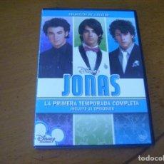 Series de TV: JONAS / 1ª TEMPORADA COMPLETA 21 EPISODIOS ( 3 DVD ) DESCATALOGADA . Lote 140228086