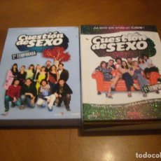 Series de TV: CUESTION DE SEXO : 1ª Y 2ª TEMPORADA 5 + 7 DVD. Lote 140435046