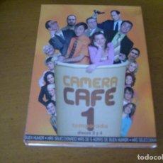 Series de TV: CAMERA CAFE 1ª TEMPORADA DISCOS 3 Y 4. Lote 140436254