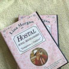 Series de TV: HOSTAL ROYAL MANZANARES DVD CON LINA MORGAN LIMPIEZA Y CONFORT **18 EPISODIOS EN 4 DVD**. Lote 140460794
