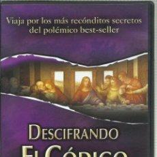 Series de TV: DESCIFRANDO EL CÓDIGO DA VINCI. Lote 140499222