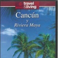 Series de TV: CANCUN Y LA RIVIERA MAYA, CONTIENE GUIA DE VIAJE. Lote 140507274