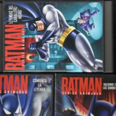 Series de TV: BATMAN. SERIES ANIMADAS. 3 DVDS. BRUCE TIM.. Lote 140528346