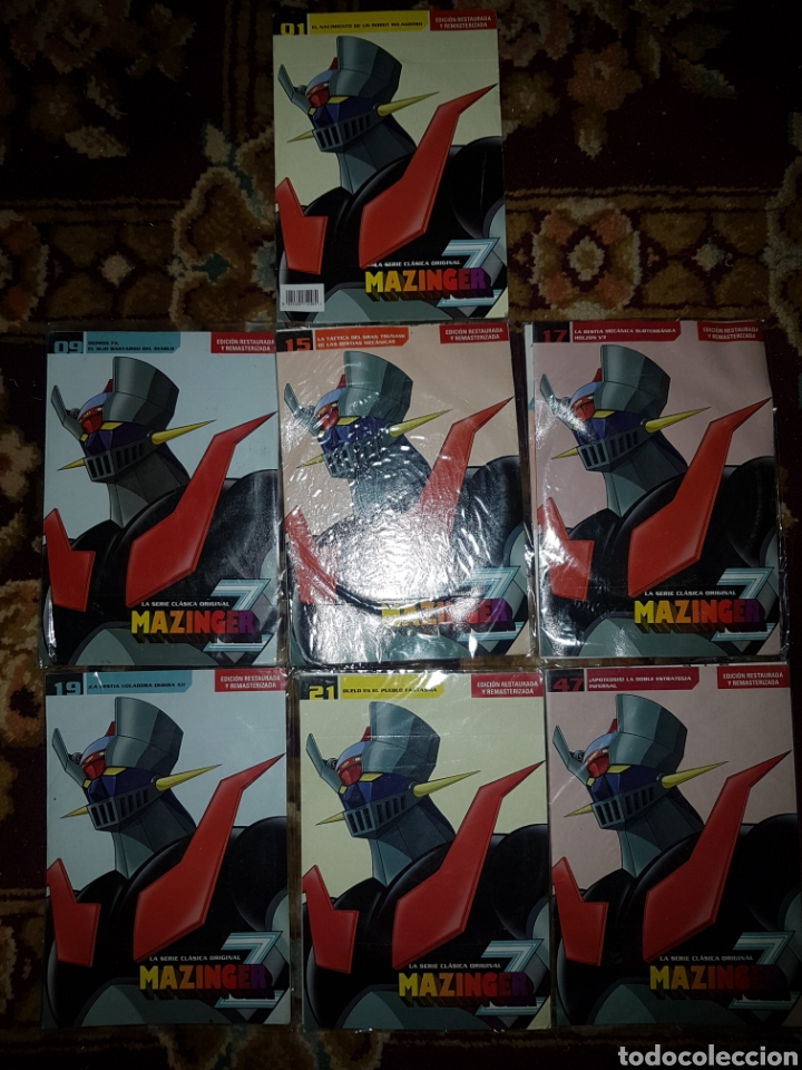 Series de TV: Lote 13 DVD Mazinger Z edición restaurada - Foto 2 - 140724824