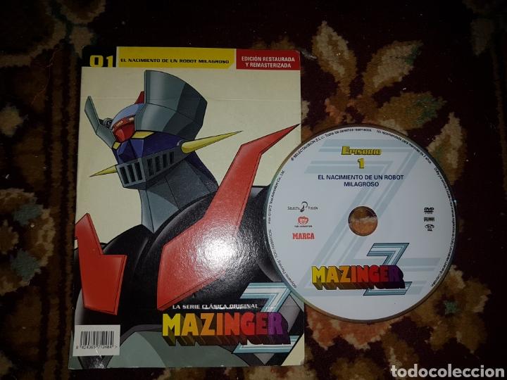 Series de TV: Lote 13 DVD Mazinger Z edición restaurada - Foto 3 - 140724824