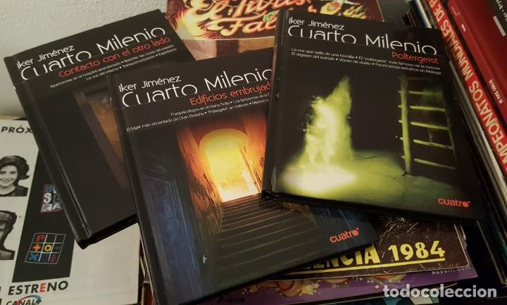 Lote 3 dvd\'s + libros cuarto milenio - iker jim - Sold through ...