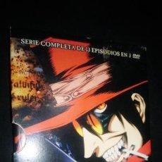 Series de TV: HELLSING - SERIE MANGA COMPLETA DVD RARA. Lote 141253970