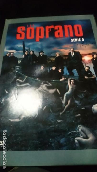 LOS SOPRANO SERIE 5 DVD (Series TV en DVD)