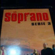Series de TV: LOS SOPRANO SERIE 3 DVD. Lote 141258254