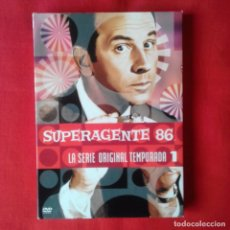 Series de TV: SUPERAGENTE 86 LA SERIE ORIGINAL TEMPORADA 1 HBO VIDEO 5 DVD. 30 EPISODIOS CASTELLANO. Lote 141765230