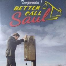 Series de TV: BETTER CALL SAUL. TEMPORADA 1 EN DVD. 3 DISCOS. PRODUCTO USADO, EN PERFECTO ESTADO.. Lote 141949330