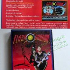 Series de TV: DVD FLASH GORDON CONQUISTA EL UNIVERSO EPISODIOS DE SERIE PERSONAJE BAS EN SUPERHÉROE D CÓMIC EXTRAS. Lote 142223982