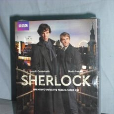 Series de TV: SHERLOCK SERIE DE LA BBC. Lote 142284130
