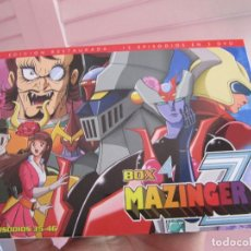 Series de TV: MAZINGER Z BOX 4. Lote 142676002