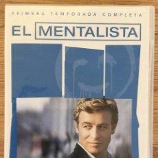 Series de TV: EL MENTALISTA 1ª TEMPORADA COMPLETA PACK -6 DVD - SERIE TV. Lote 143196090