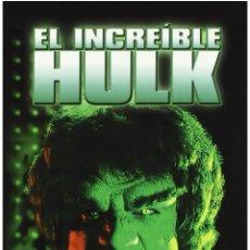 Series de TV: SERIE DEL INCREÍBLE HULK /1,2,3 TEMPORADA COMPLETAS !!!SUPER DESCATALOGADO. Lote 143287644
