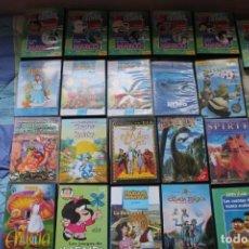 Series de TV: 21 DVD SERIES INFANTIL Y PELICULAS. Lote 143549198