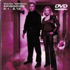 Series de TV: CSI: CRIME SCENE INVESTIGATION SEGUNDA TEMPORADA EPISODIOS 2.1 - 2. 12 . Lote 143797666