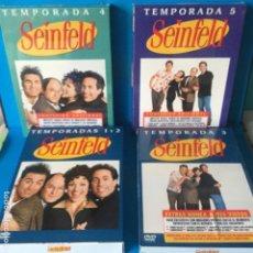 Series de TV: SEINFELD -SERIE TV - LOTE DVD-S 4 PACK TEMP1-2-3-4-5. Lote 143815774