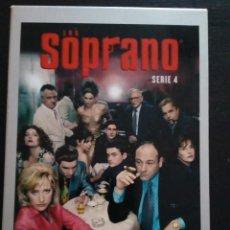 Series de TV: LOS SOPRANO SERIE 4, 4 DVDS, 13 EPISODIOS. Lote 143816750