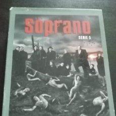 Series de TV: SERIE LOS SOPRANO 5, 4 DVDS CON 13 CAPÍTULOS. Lote 143817130
