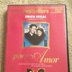 Series de TV: POR AMOR DVD DE ERICH SEGAL **MINI SERIE DE 180 MINUTOS BESTSELLERS** CON ROB MORROW Y MARISA TOMEI. Lote 143821262