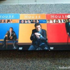 Series de TV: DVD -- SERIE HOUSE -- TEMPORADAS 1 / 2 / 3 -- 18 DVDS -- COMPLETAS -- . Lote 144035586