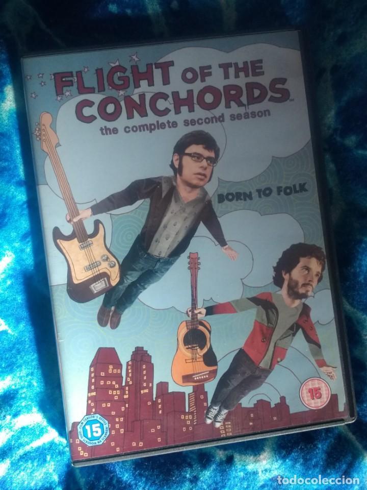 DVDS FLIGHT OF THE CONCHORDS HBO SEGUNDA TEMPORADA COMEDIA (Series TV en DVD)