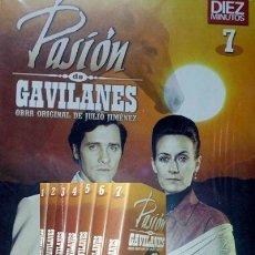 Series de TV: PASIÓN DE GAVILANES (ED DIEZ MINUTOS) 7 DVD DVD. Lote 144085756