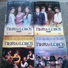 Series de TV: DVD -- TIERRA DE LOBOS -- 1ª / 2ª / 3ª TEMPORADA -- 16 DVDS --. Lote 190736608