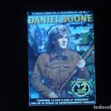 Series de TV: DANIEL BOONE SUS DOS PRIMERAS TEMPORADAS CONTIENE 16 DVD'S CON 57 EPISODIOS - NUEVO PRECINTADO. Lote 144386882