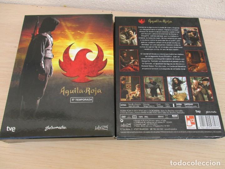 aguila roja cuarta temporada 4 dvds - Comprar Series de TV en DVD en ...