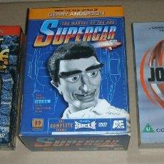 Series de TV: GERRY ANDERSON DVD PACK SUPERCAR REG.1, ALL .NEW. PACK NUEVO ,NUNCA VISIONADO . 16HRS. 54 MINS.. Lote 145679458