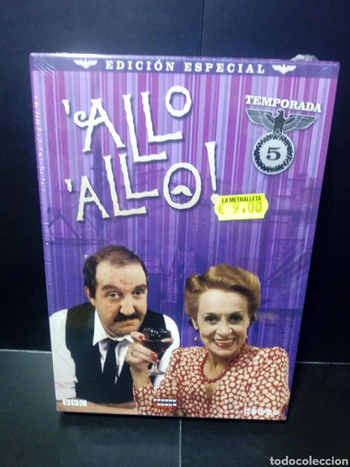 ALLO ALLO- TEMPORADA 5 DVD (Series TV en DVD)