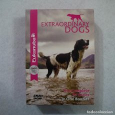 Series de TV: EXTRAORDINARY DOGS. THE COMPLETE TV SERIES (EN INGLES, ESPAÑOL, FRANCÉS…) - 3 DVDS. Lote 146418314